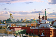 Building Photo Posters - Kremlin, Moscow, Russia Poster by Lars Ruecker