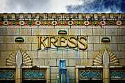 Hilo Framed Prints - Kress Building Detail Framed Print by Christopher Holmes