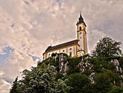 Kreuzbergkirche - Pleystein Print by Juergen Weiss