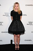 Kristen Bell Photo Prints - Kristen Bell At Arrivals For Chanel Print by Everett