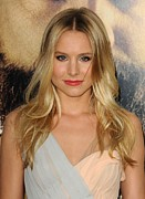 Kristen Bell Metal Prints - Kristen Bell At Arrivals For The Metal Print by Everett