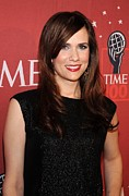 Influential Framed Prints - Kristen Wiig At Arrivals For Time 100 Framed Print by Everett