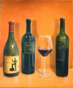 Napa Valley Vineyard Paintings - Krupp by Patrick ORourke