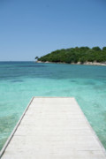 Cristal Framed Prints - Ksamil beach Framed Print by Andrea Barbieri