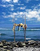 Seascape Digital Art - Ku emanu Heiau Kona by Kurt Van Wagner