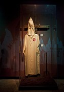 Hoods Posters - Ku Klux Klan Robe On Display Poster by Everett