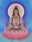 Kuan Yin Print by Sue Halstenberg