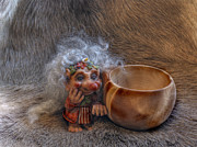 Troll Prints - Kuksa Troll Print by Merja Waters