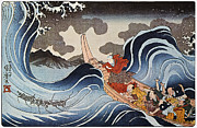 Adversity Photos - Kuniyoshi: Oban Print by Granger