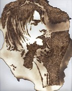 Kurt Cobain Pastels - Kurt Cobain by Brian Martin