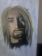 Kurt Cobain Art - Kurt Cobain by Crystal Dearth-Lorton