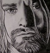 Kurt Cobain Art - Kurt Cobain by Mary McCusker