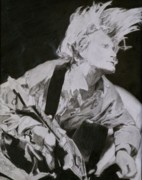 Kurt Cobain Art - Kurt Cobain by Mike Eliades
