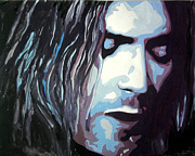 Kurt Cobain Art - Kurt Cobain portrait by Dzhuliano Dimitrov