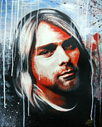 Kurt Cobain Originals - Kurt Cobain by Ramil R Guerra