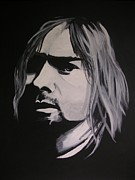 Kurt Cobain Art - Kurt Cobain by Rock Rivard