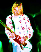 Kurt Cobain Photos - Kurt by Jerry Killian