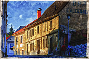 Unesco Framed Prints - Kutna Hora Framed Print by Joan Carroll