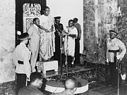 Inaugurations Framed Prints - Kwame Nkrumah 1909-1972, Standing Framed Print by Everett