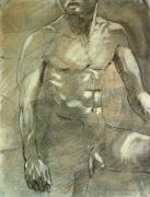 Nude Couple Pastels - Kyle by Jeffrey Morin