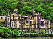 Great Outdoors Paintings - Kylemore Abbey by Dean Wittle