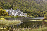 Ypres Framed Prints - Kylemore Abbey Galway Framed Print by Dave McManus