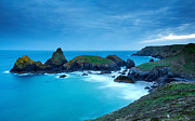 Summer Squall Prints - Kynance Cove Print by Michael Stretton