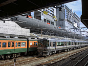 Train Line Prints - Kyoto Main Train Station - Japan Print by Daniel Hagerman