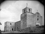 Bound Framed Prints - La Bahia Presidio Chapel, Goliad Framed Print by Everett