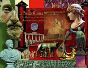 Coins Digital Art - La Bella Roma Antica by Dean Gleisberg