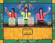 Chicana Mixed Media - La Bonita by Sonia Flores Ruiz