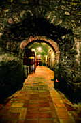 Cellar Digital Art Prints - La Cantini Argiano Print by John Galbo