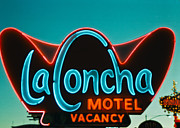Old Signage Prints - La Concha Print by Matthew Bamberg