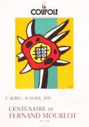 Mourlot Paintings - La Coupole by Fernand Leger
