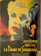 Hayworth Posters - La Dame De Shanghai Poster by Nomad Art and  Design