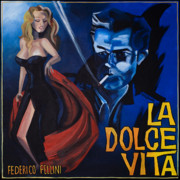 Film Painting Originals - La Dolce Vita by Kelly Jade King