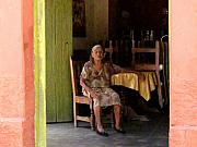 Old Person Posters - La Dona de La Noria 5 by Darian Day Poster by Olden Mexico