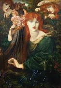 La Ghirlandata Print by Dante Charles Gabriel Rossetti