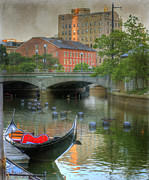 Downtown Metal Prints - La Gondola. Providence Metal Print by Juli Scalzi