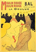 Toulouse-lautrec Prints - La Goulue Print by Pg Reproductions