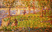 1884 Art - La Grande Jatte by Pg Reproductions