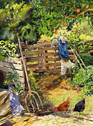 Scarecrow Originals - La Huerta by Margaret Merry