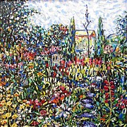 La Jardin Print by Yulonda Rios