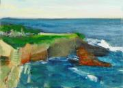 Original Oil Paintings - La Jolla Cove 021 by Jeremy McKay