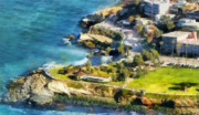 California Landscape Art Posters - La Jolla Cove  Poster by Russ Harris