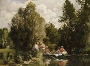 La Mare Aux Fees Print by Pierre Auguste Renoir