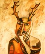 La Mascara Del Vernado Print by Carlos Navarrete
