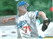 Sports Art Paintings - LA or Bust by Jason Yoder