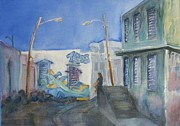 Puerto Rico Paintings - La Perla Graffiti by Benjamin Smith