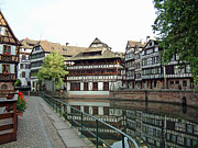 Petite Leaves Prints - La Petite France Strasbourg France Print by Joseph Hendrix